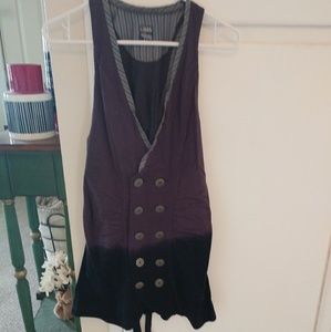 Double breasted vest dress Free people sz s/p